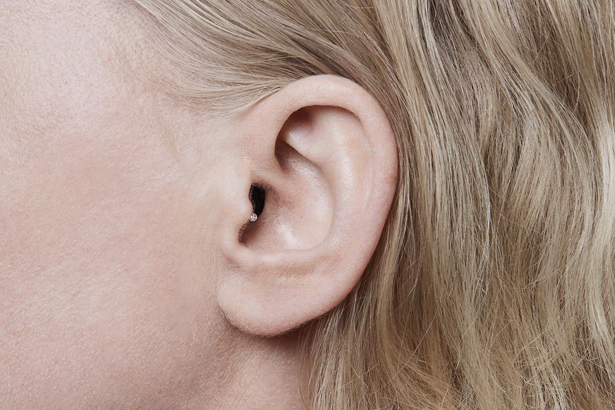Invisible in the canal hearing aids
